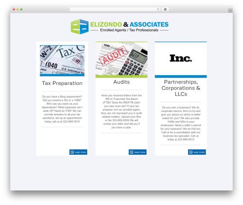 The Firm theme WordPress - e1040a.com