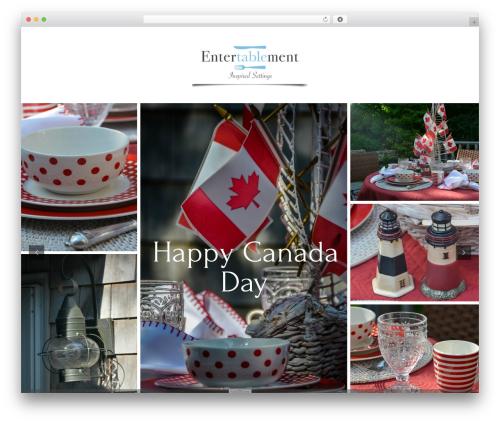 Best WordPress template Divi - entertablement.com