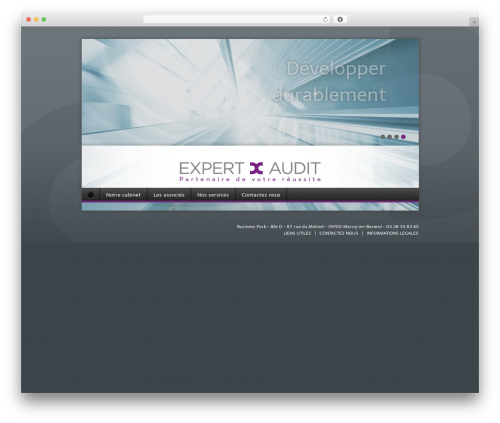 Nine WordPress page template - expertauditlille.com