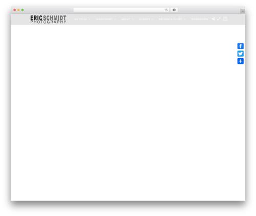 Free WordPress Facebook Widget plugin - ericschmidt-photography.com