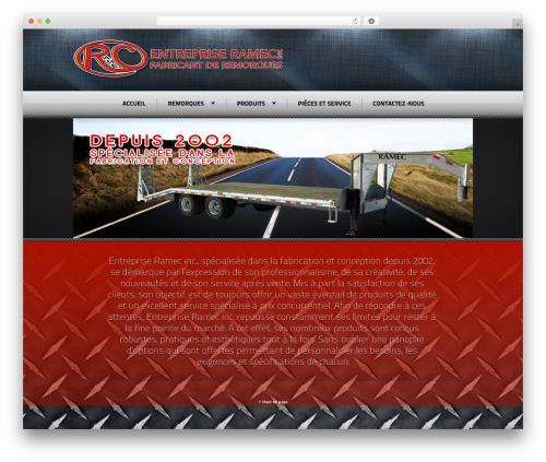 Radial Premium Theme WordPress theme - entrepriseramec.com