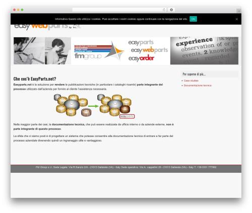 Theme WordPress GalaNight Premium - easywebparts.it
