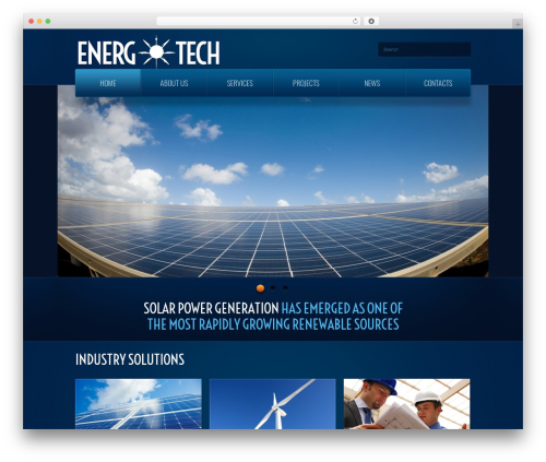 WordPress theme theme1866 - energtech.com