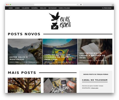 WordPress website template 15zine   Shared By themes24x7.com - euvosescrevi.com.br