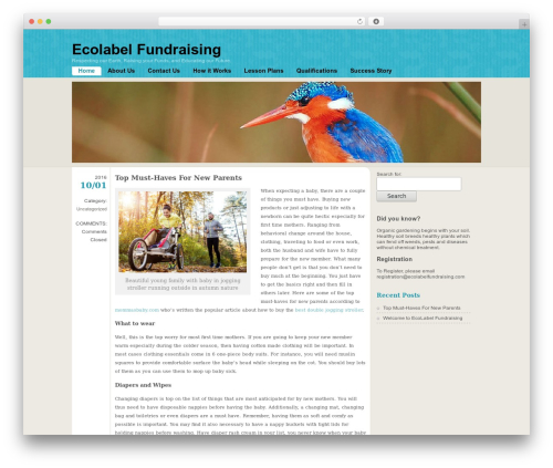 WP template FloatingLight - ecolabelfundraising.com