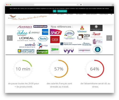 Avada WordPress template - easyrelax.fr