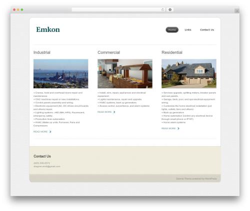 Dzonia Lite WordPress theme download - emkon.ca