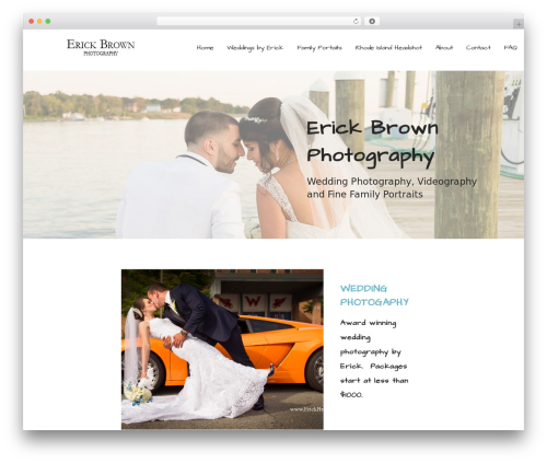 Mins WordPress template - erickbrown.com