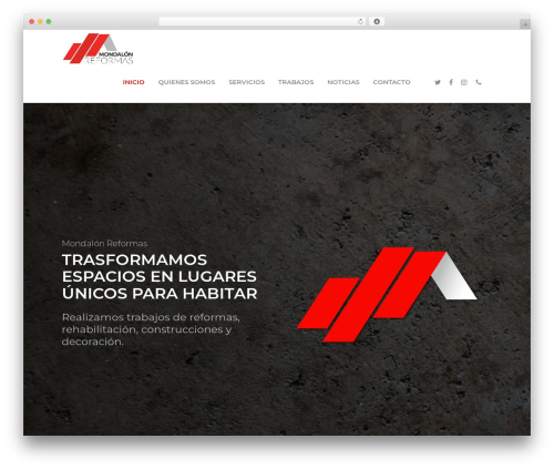 Salient WP theme - empresadereformasenlaspalmas.com