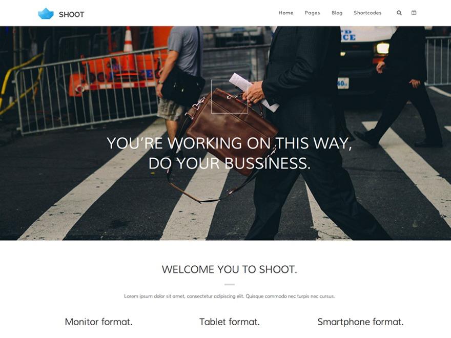 WP Shoot newspaper WordPress theme