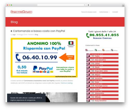 WP template Smart - cartomanziavera.com