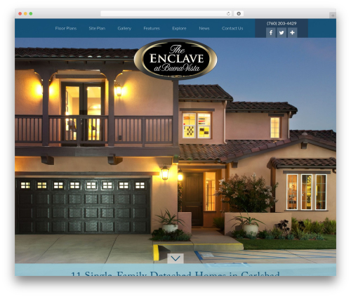 Client Theme WordPress theme - enclavenewhomes.com