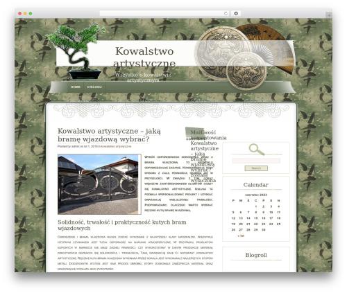 Dyne WordPress theme design - e-kowalstwo-artystyczne.pl