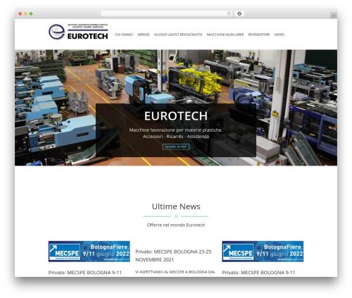 Jewel Business WordPress WordPress theme - eurotechitalia.com