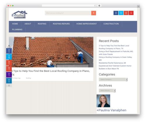 SociallyViral by MyThemeShop WordPress ecommerce theme - ezroofing.org