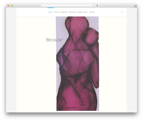 Theme WordPress Eden - epigramicon.com