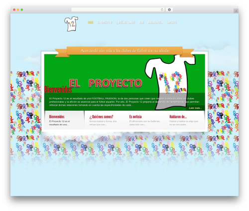 Theme WordPress Sky - elproyecto12.com