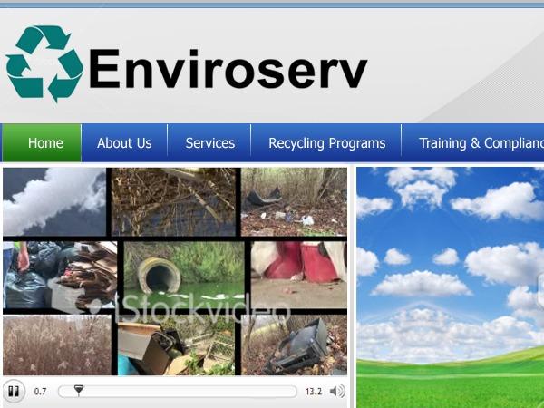 WordPress theme Enviroserv