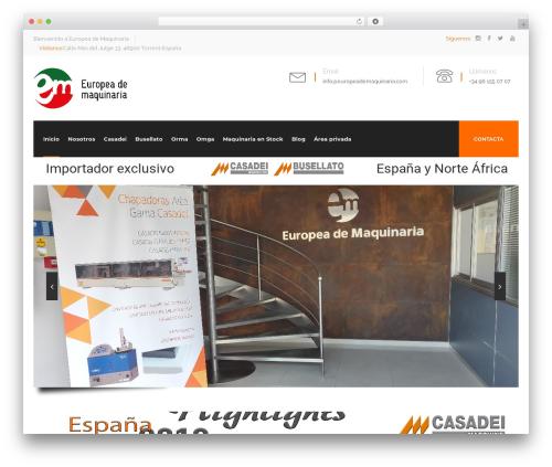 WordPress vc-super-bundle plugin - europeademaquinaria.com