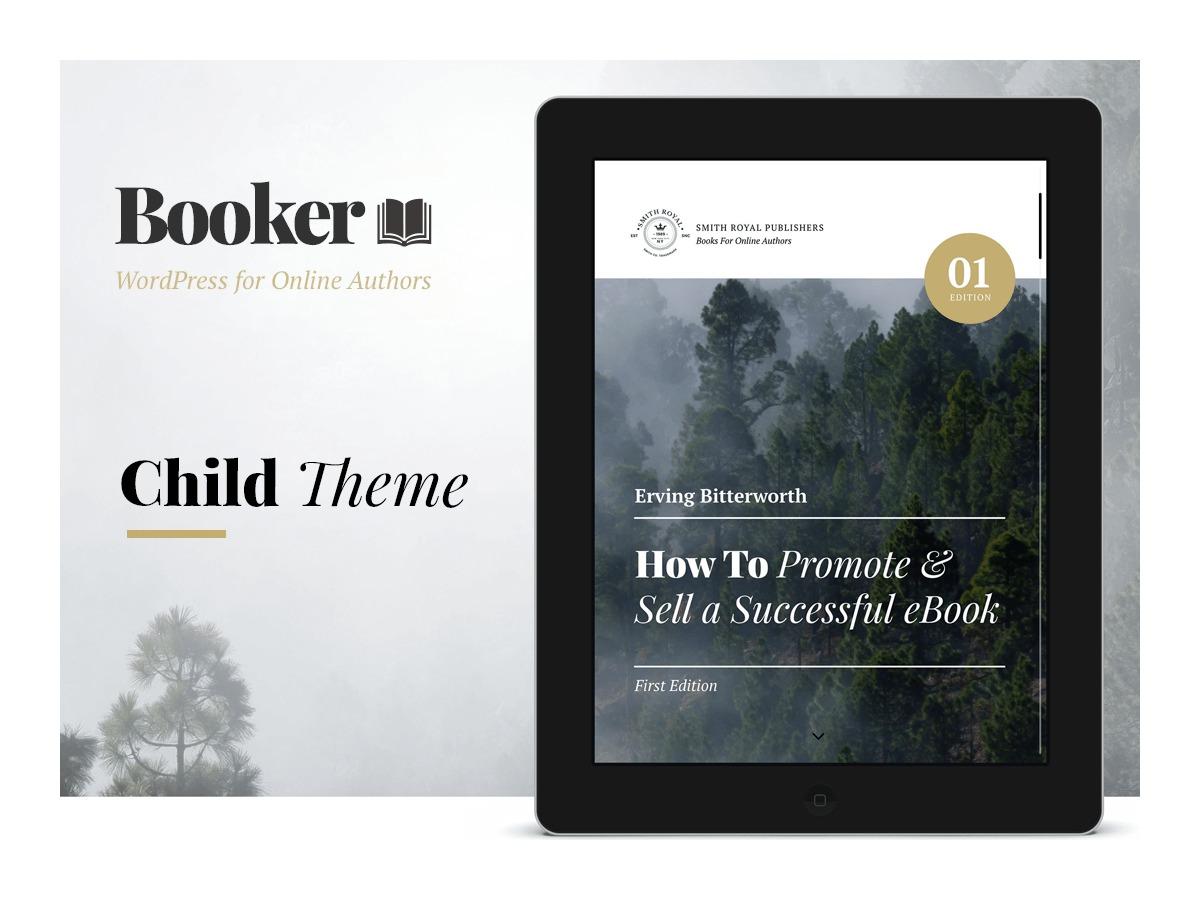 Booker Child Theme WordPress theme