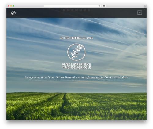 Lumos WordPress theme - entreterresetciel.com