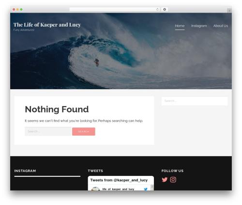 Lyrical top WordPress theme - camacama.co