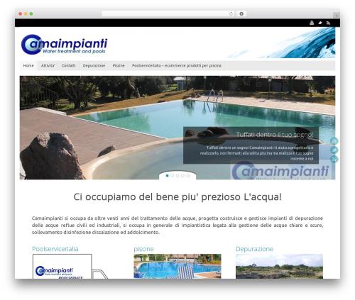 Tempera template WordPress - camaimpianti.com