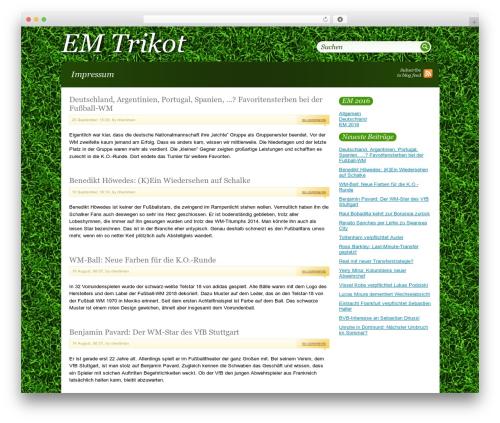 Theme WordPress Greenblog - emtrikot.net