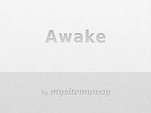 WordPress template Awake