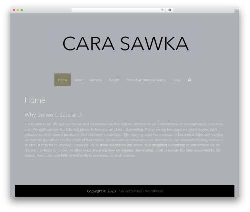 Freelancer WP theme - carasawka.com