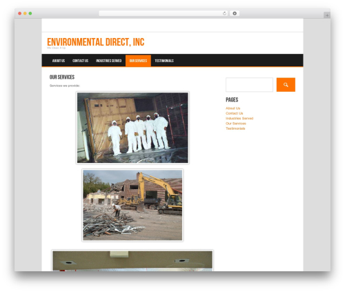 Koenda WP template - environmentaldirectinc.com