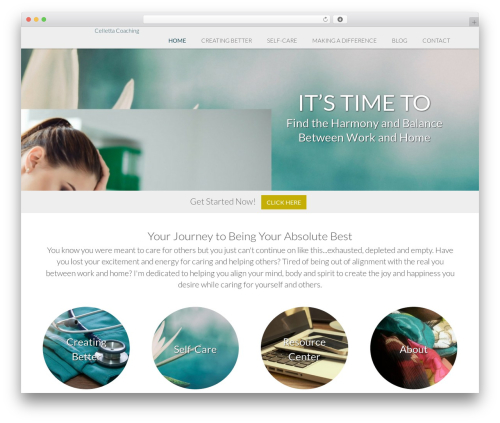 Nectar Child WP template - cellettacoaching.com