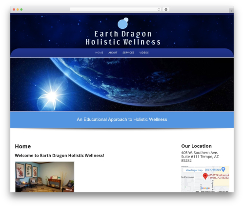 Preferential Lite free WP theme - earthdragonholisticwellness.com