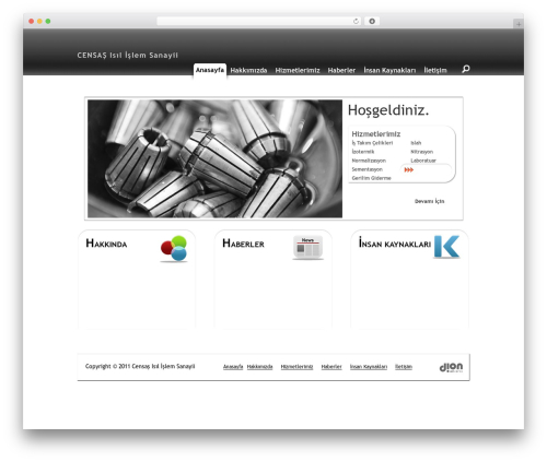 Starkers HTML5 theme WordPress by Nathan Staines ...
