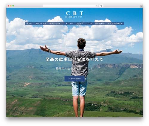 Sydney best free WordPress theme - cbtskill.com