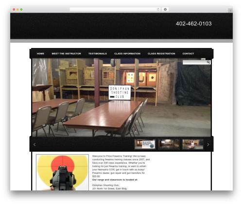 Tarnished best WordPress theme - ccwnebraska.com