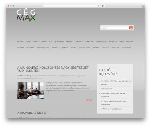Theme WordPress LizardBusiness - cegmax.hu