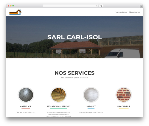 Zerif Lite best free WordPress theme - carl-isol.com
