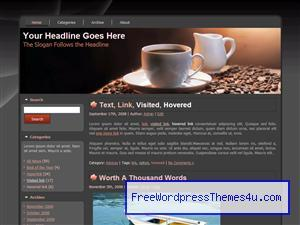 a cup of coffee ote008 WordPress theme