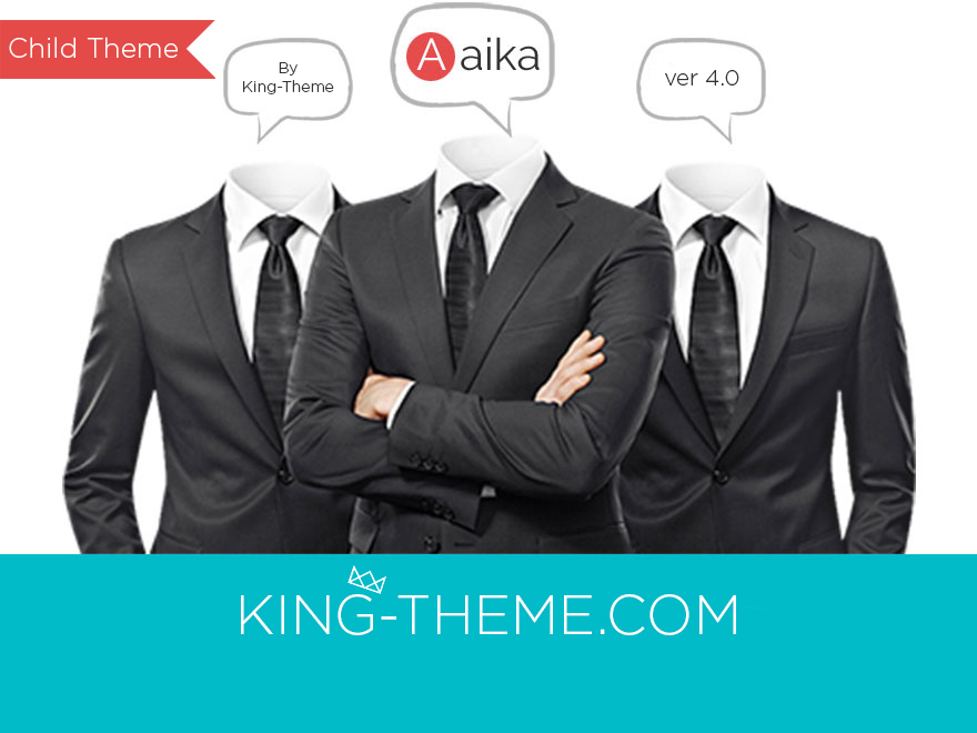 Aaika Child WordPress page template