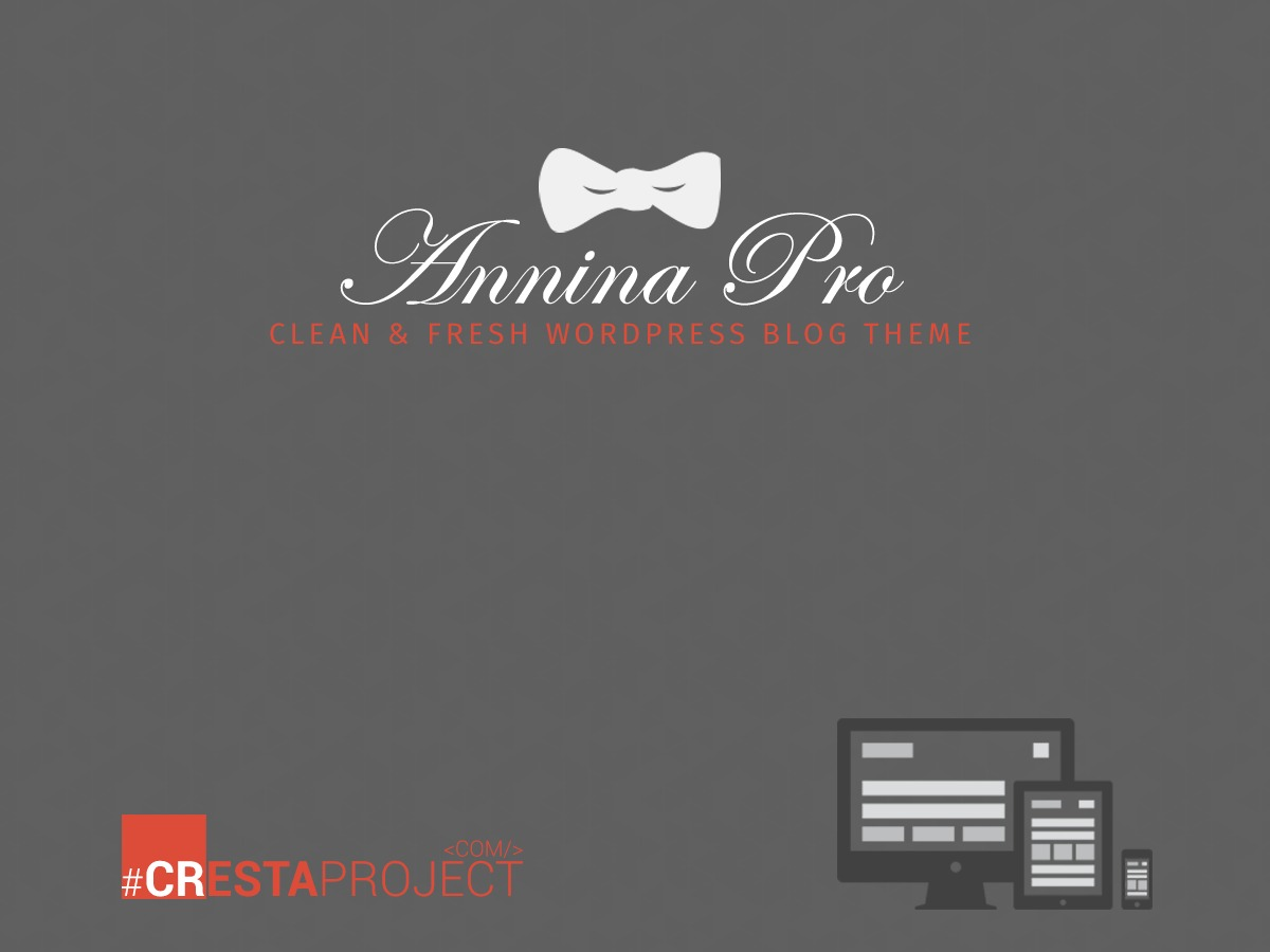 Annina Pro WordPress blog theme