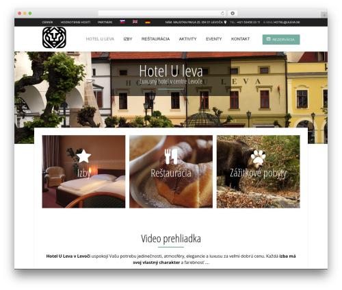 Best WordPress template Hotec - uleva.sk