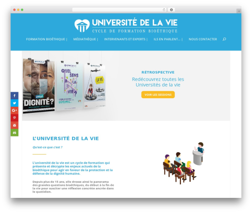 Free WordPress SlickQuiz plugin - universitedelavie.fr