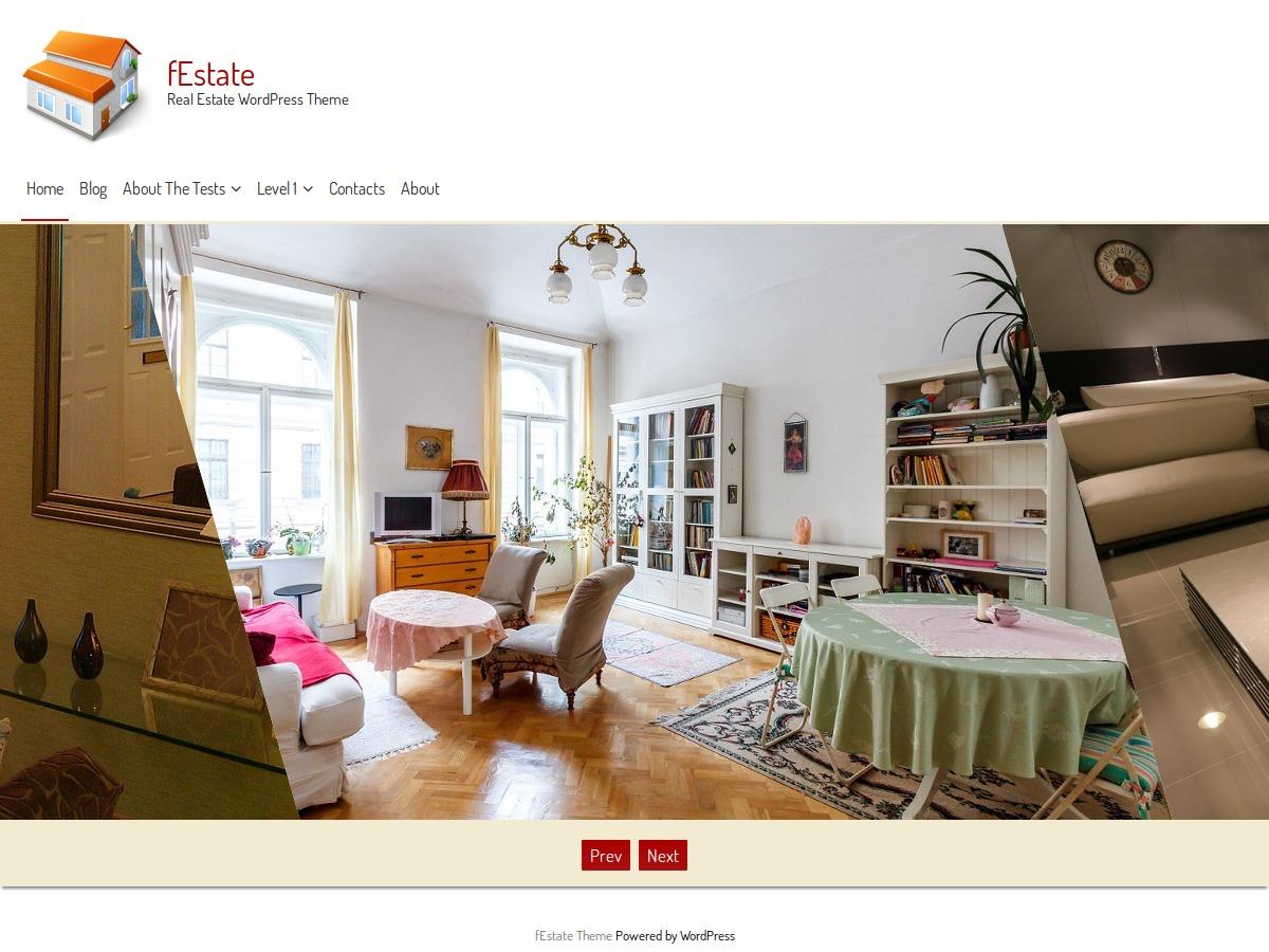 fEstate real estate WordPress theme