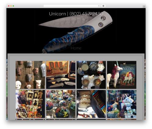 Fifteen template WordPress free - unicornvt.com