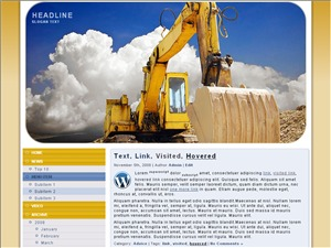 industry 62 WordPress theme
