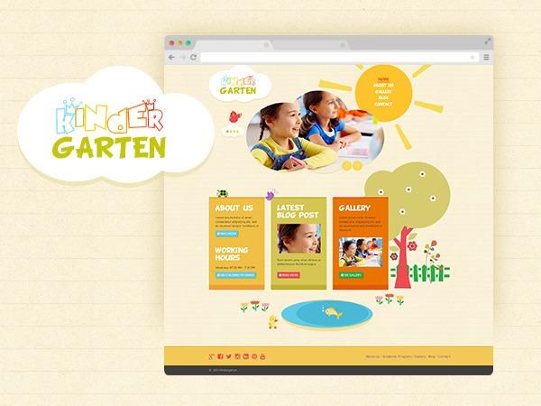 Kindergarten best WordPress theme