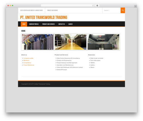 Koenda template WordPress - utt.co.id