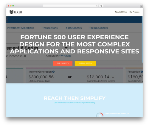 OnePirate WordPress theme - uxuiinc.com