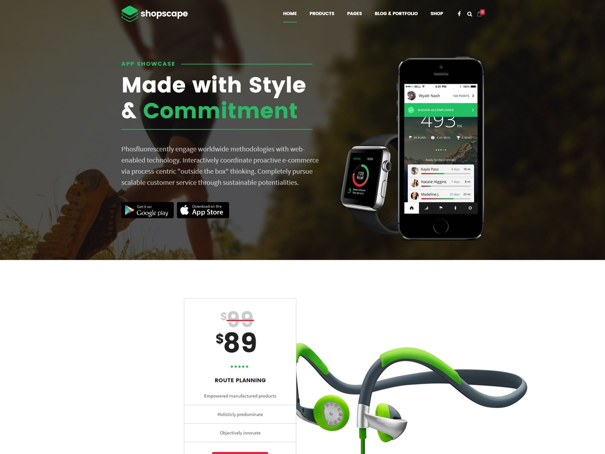 Shopscape best WooCommerce theme